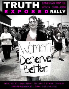 Truth Exposed Rally Flyer