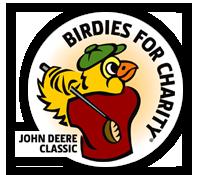 Birdies for Charity John Deere logo