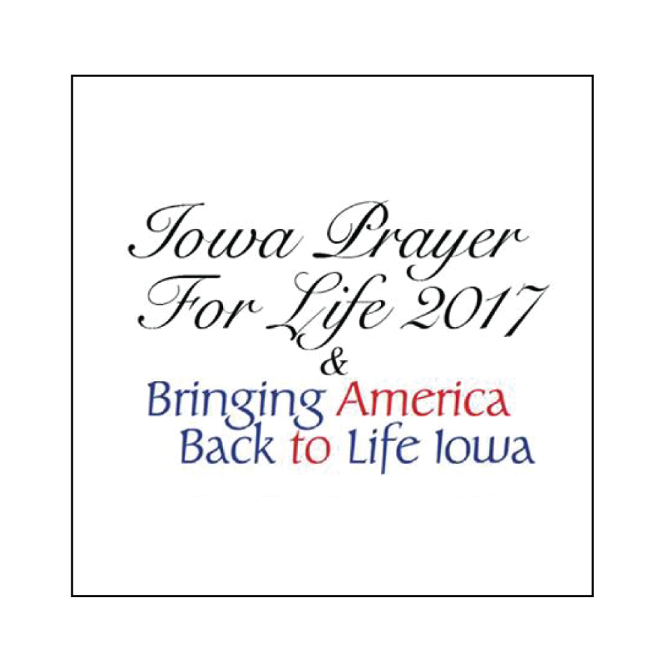 Prayer For Life: February 7, 2017