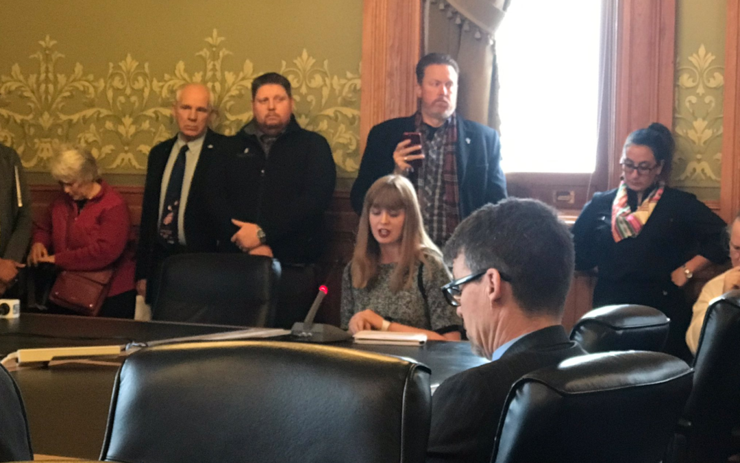 Caitlyn Dixson testifies before Senate subcommittee on Life Amendment