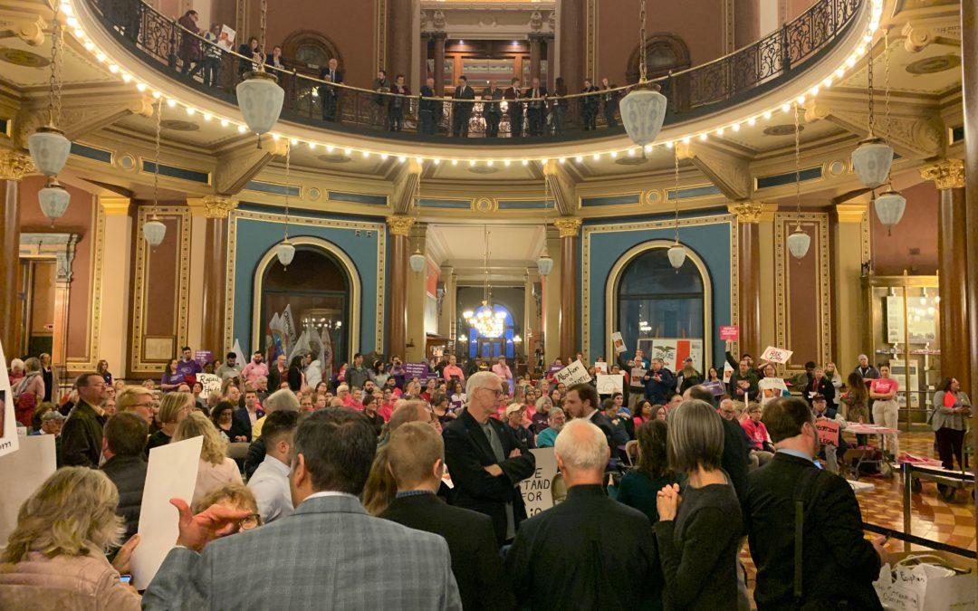 Caitlyn Dixson testifies at Public Hearing on Protect Life Amendment